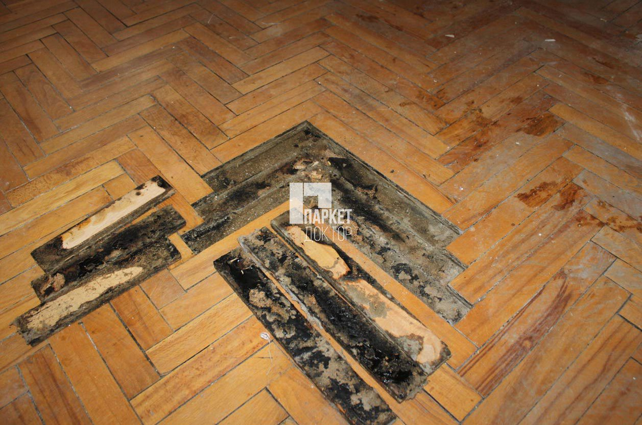Как отремонтировать старый деревянный пол своими руками 20
